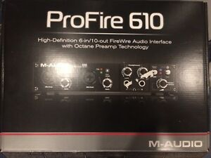 M-Audio ProFire 6/10 Audio Interface - $115obo