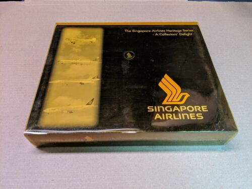 Herpa Singapore Airlines Heritage 510516 SUPER RARE Concorde brand new & sealed.