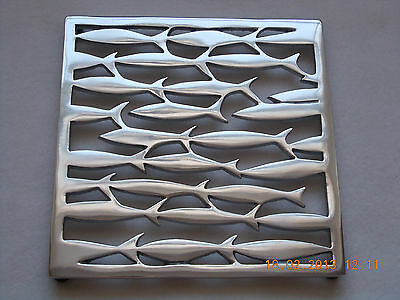 New Metal Fish Trivet ,  Pot Stand coastal / seaside