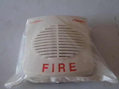 4901 Simplex True Alert Addressable Horn Fire Alarm White