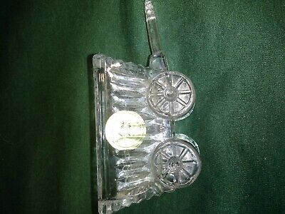 Princess House Wagon Cross Handle 24 Percent Lead Crystal (Princess Wagon)