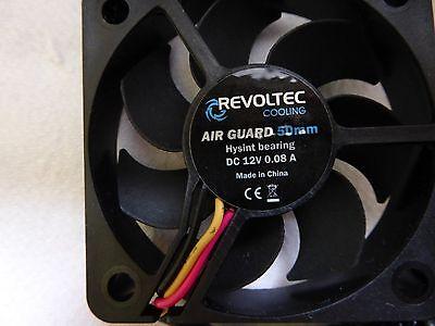 10 Revoltec PC Lüfter  50x50x10
