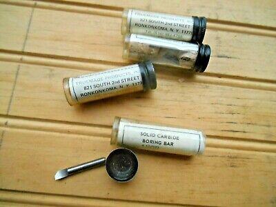 Truemade Solid Carbide Boring Bar 180b 1-18long 532 Shank Lot Of 4