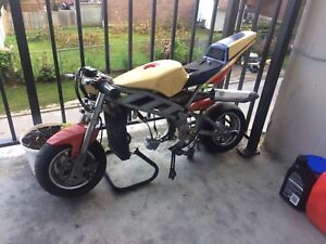 39cc pocket bike