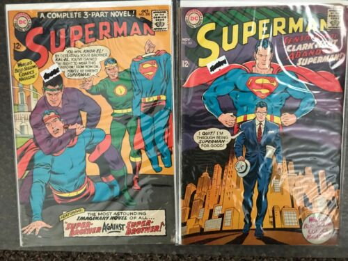 Superman #200-201, DC Comics