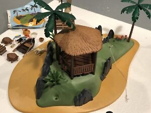 Playmobil Pirate Island and Castaway on Raft