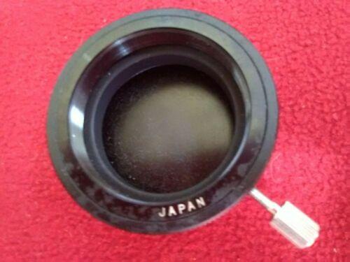 "Edmund Reflective Telescope Eyepiece Cover 4.25"" Deluxe Space Vintage 1968 Parts"
