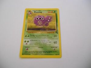 POKEMON-CARDS-1x-TCG-Weezing-Fossil-45-62-ING-Inglese-x1