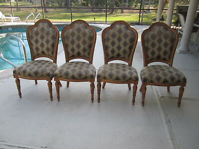 Classic Tradition Side Carved Chairs by Ferguson Copeland  four Shipping Extra ()