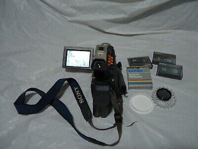 SONY DCR-TRV9 Mini DV Handycam Video Camera Camcorder TESTED