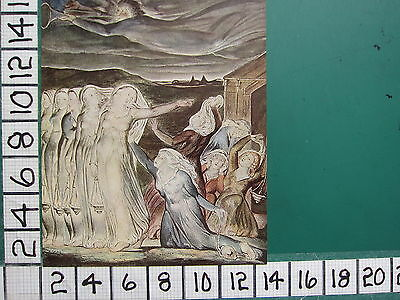 1945 WILLIAM BLAKE PRINT ~ THE WISE AND FOOLISH VIRGINS