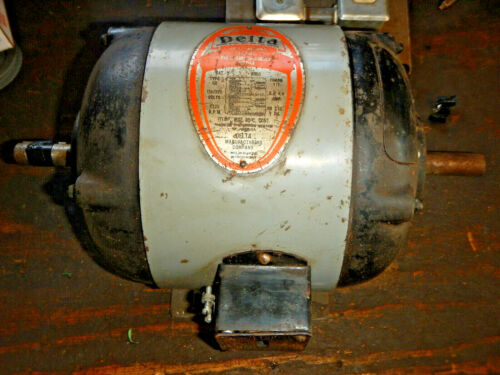 VINTAGE EARLY DELTA MILWAUKEE REPULSION INDUCTION 1/2HP MOTOR  HEAVY