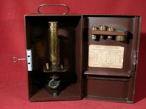 "Antique BECK ""Star"" microscope"