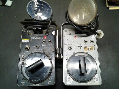2 - General Radio Gr Strobotac Type 1531