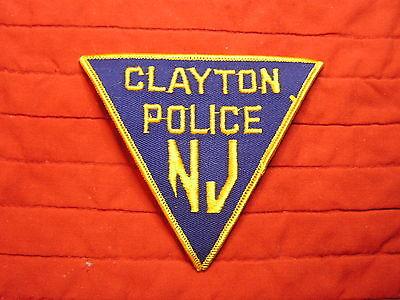 CLAYTON POLICE  NJ