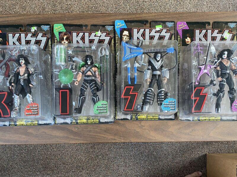 Kiss Action Figures 1997 McFarlane Toys Complete Set 4 Figures NIB
