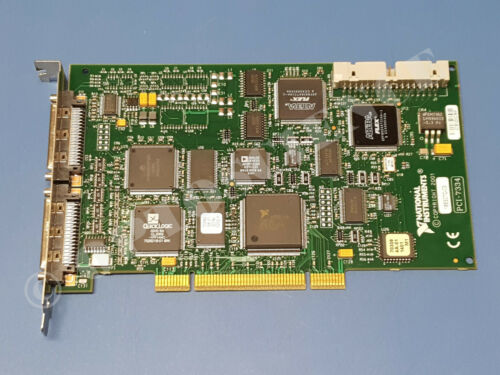 National Instruments PCI-7334 Motion Controller Card, 4-Axis Stepper, 186307C-03
