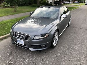 2012 Audi S4 STronic paddle shift AWD