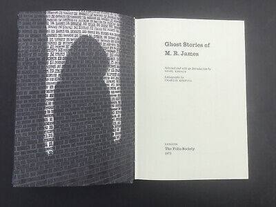 1973/4 Folio Society M.R. JAMES  THE COLLECTED GHOST STORIES VGC  SLIP-CASE VGC for sale  Shipping to Ireland