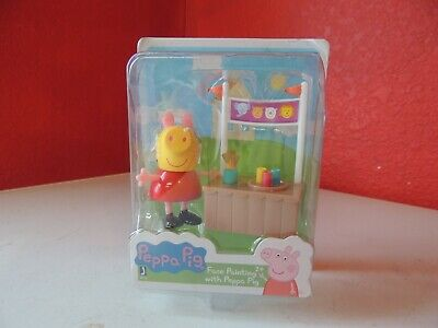 Peppa Pig Friends and Fun Mini-Figure - Face Painting with Peppa Pig - Peppa Pig Painting