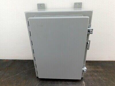 Hoffman Electrical Enclosure A161208lp 16x12x8 Electric Box Cabinet