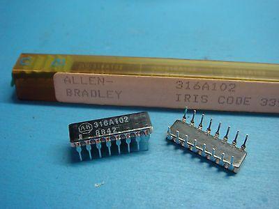 12 Allen Bradley 316a102 1000 Ohm 125mw 1.8 Watt Resistor Network 16p Dip