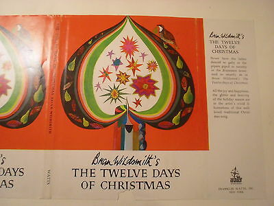 The Twelve Days of Christmas, Brian Wildsmith, Dust Jacket Only ()