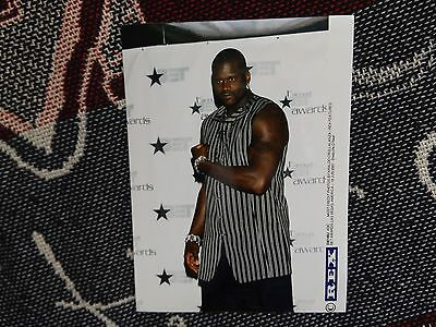 "8"" x 6"" PRESS AGENCY PHOTO - SHAQUILLE O'NEAL - 2001 BET AWARDS LAS VEGAS"