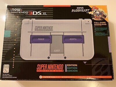 """New"" Nintendo 3DS XL Super NES SNES Edition Console - (READ DESCRIPTION)"