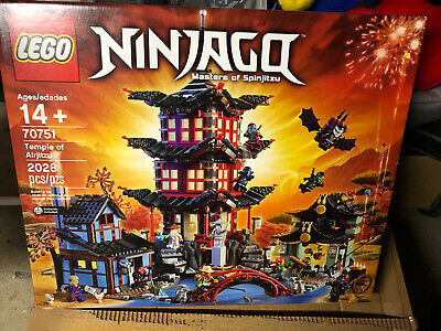 LEGO 70751 Ninjago Temple of Airjitzu New Factory Sealed RETIRED Hard To Find