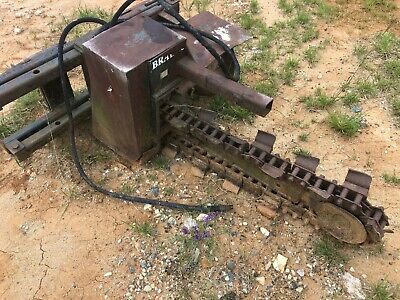 Bradco 617 Trencher Skid Steer Attachment