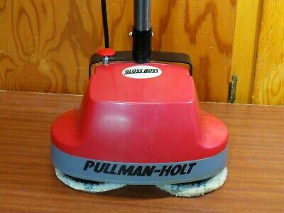 Pullman-holt Gloss Boss Mini Floor Scrubber Buffer Cleaner Polishing Machine