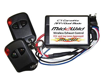 2014-2019 Cprvette Mild 2 Wild NPP Dual Mode Exhaust Remote Control Switch