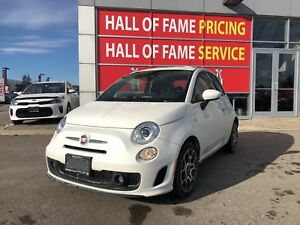 2018 Fiat 500 Easy LIKE NEW, Manual Trans, Backup Cam, Power gro