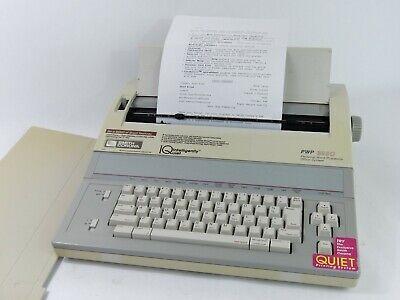 Smith Corona Pwp-3850 Model 5f Electric Typewriter Word Processor - Functional