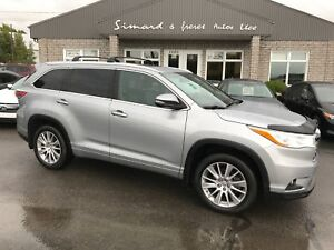 2014 Toyota Highlander XLE AWD 8 PASSAGERS FULL ÉQUIPE