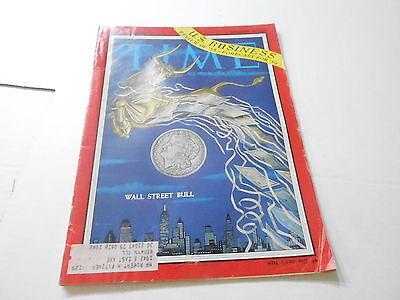 Dec 29 1958  Time News Magazine U S  Business   Wall Street Bull
