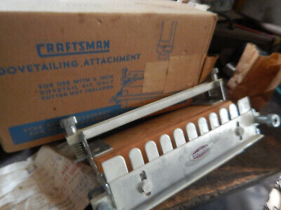 Vintage Craftsman Dovetail Fixture For Drill Press ... In Box