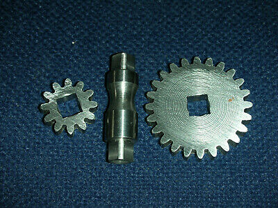 Atlas Craftsman 9-12 Inch Lathe Traverse Gear Case Repair Kit12t24t Gearshaft