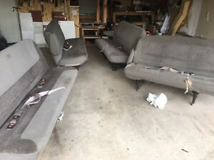 Van bench seats