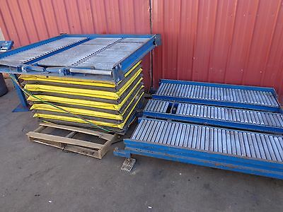 Topper Pneumatic Turn Table Roller Gravity Conveyor Rotation Table