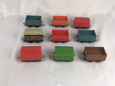 Thomas & Friends Lot of 9 Trackmaster For Motorized Sets Empty Cargo Mail Mining