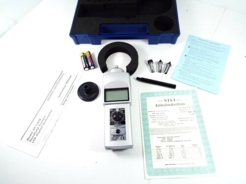 SHIMPO DT-105-A TACHOMETER 0.10 TO 25000RPM ª0.006%; RPM MEASURING RANGE:0.1RPM