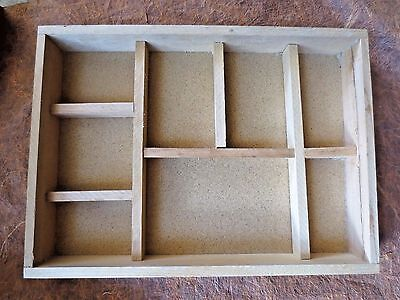 wood display case curio cabinet shadow box miniatures collectibles