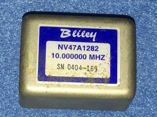 Bliley NV47A1282 10MHz Sine Wave OCXO Crystal Oscillator  +5V EFC