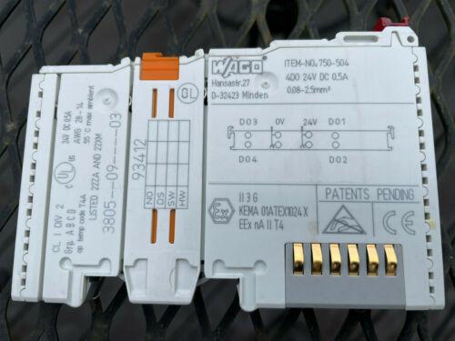 WAGO 750-504 Output Module