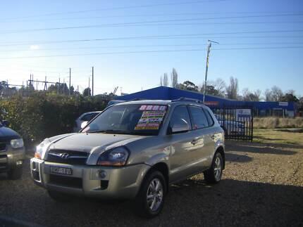 2009 Hyundai Tucson Wagon SX City 2.0 5spd SUV Very Tidy Car