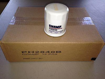 Twelve 12  Usa Champ Ph2840 Oil Filter Bulk Case Fits Ph4967 L14476 51394 V4476
