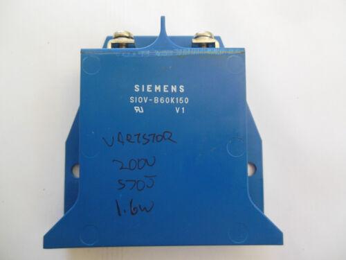 ☆NEW☆ Siemens SIOV-B60K150 Block Metal Oxide Varistor