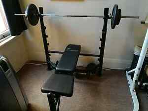 Weight Bench Press adjustable Stanmore Marrickville Area Preview